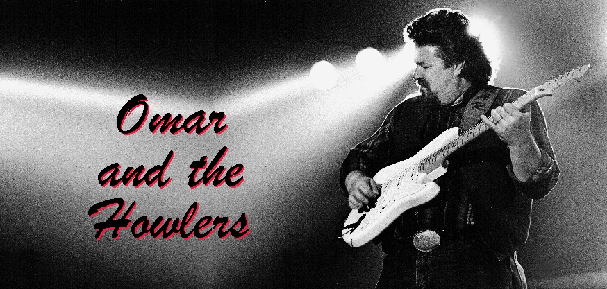 Logo Omar and The Howlers